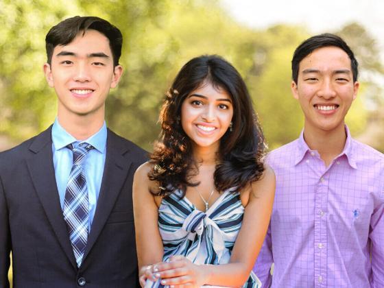 Allen Zhou, Aditi Merchant and Anthony Zhou