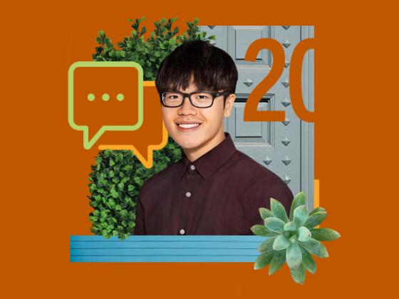 UT Austin Class of 2020 Senior, David Chen