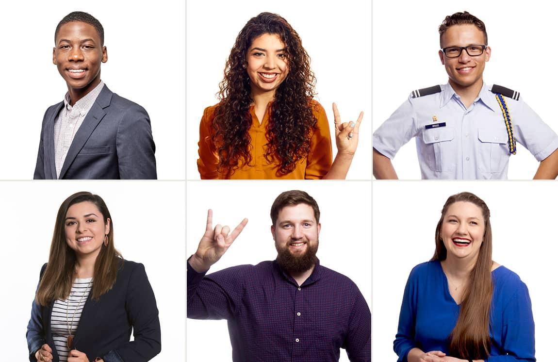 6 University of Texas students