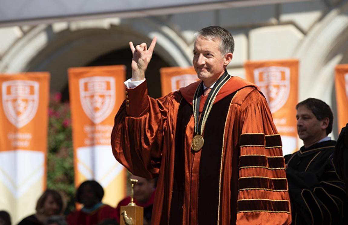 30th UT Austin President Jay Hartzell