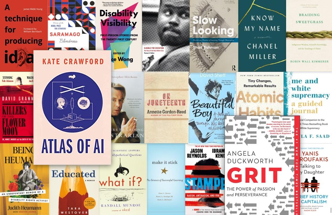 Texas Reading Roundup Book Covers