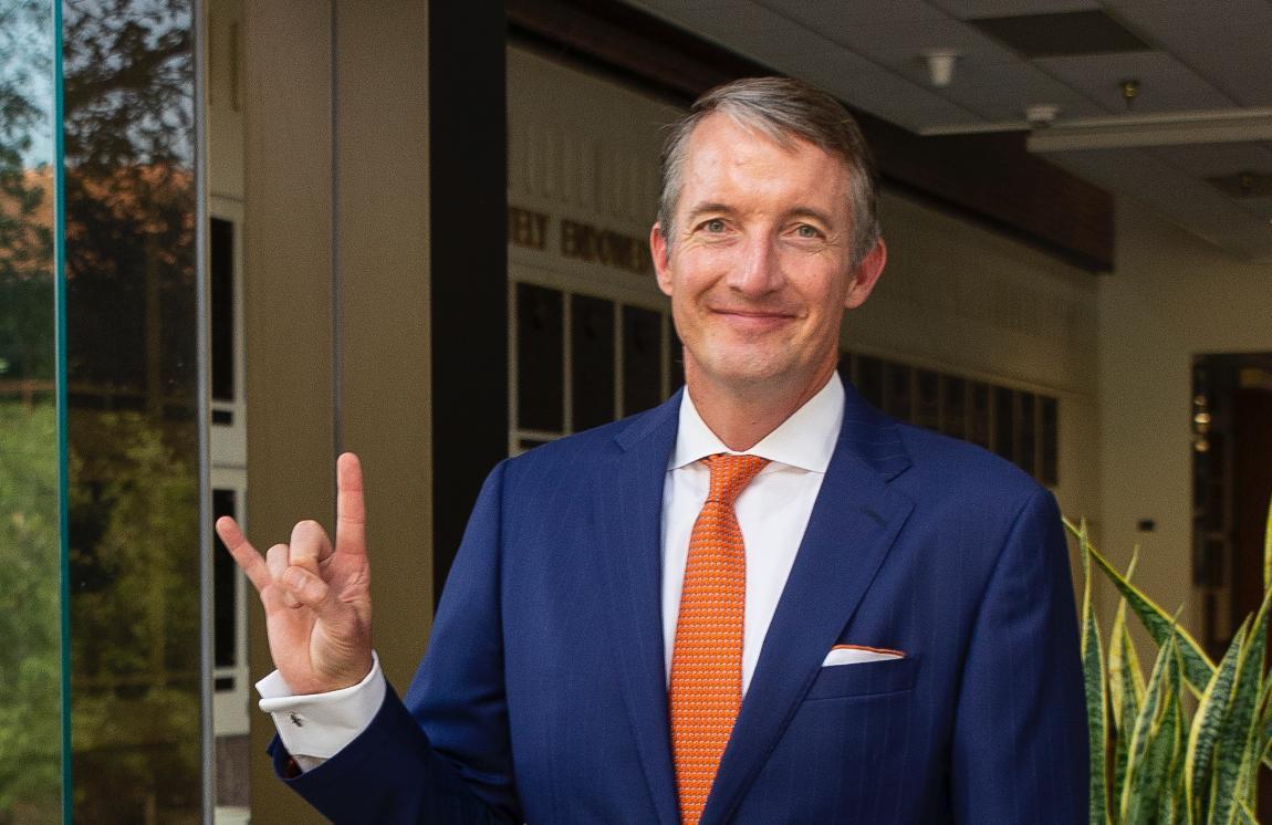 Jay Hartzell Begins His Journey as UT Interim President