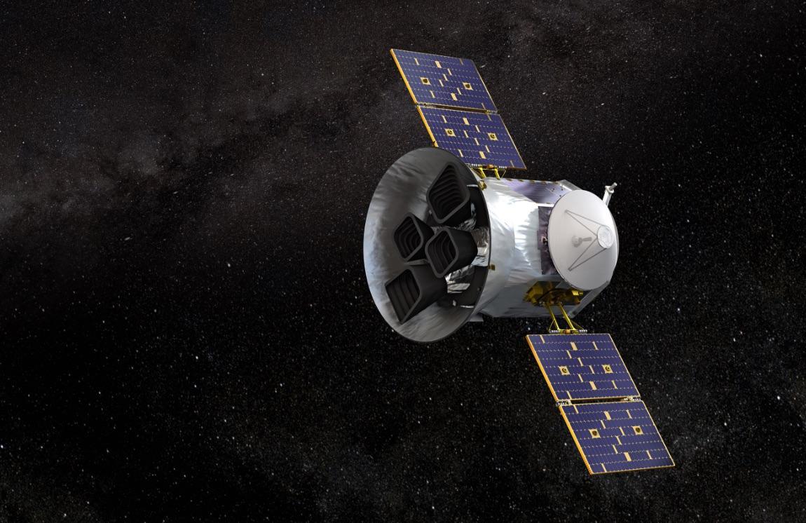 Illustration of NASA's Transiting Exoplanet Survey Satellite - TESS