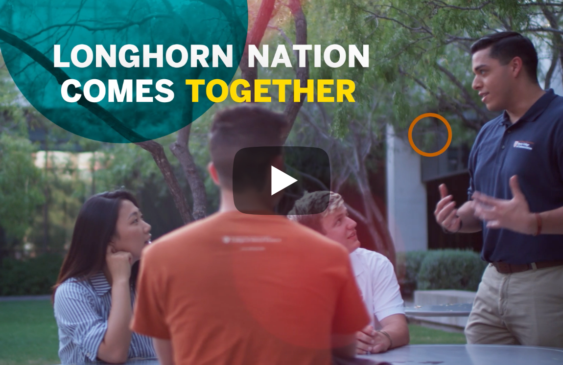 Longhorn Nation Comes Together: 40 Hours for the Forty Acres