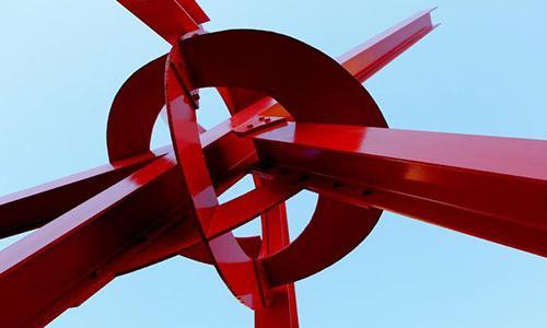 Clock Knot, Mark di Suvero, 2007