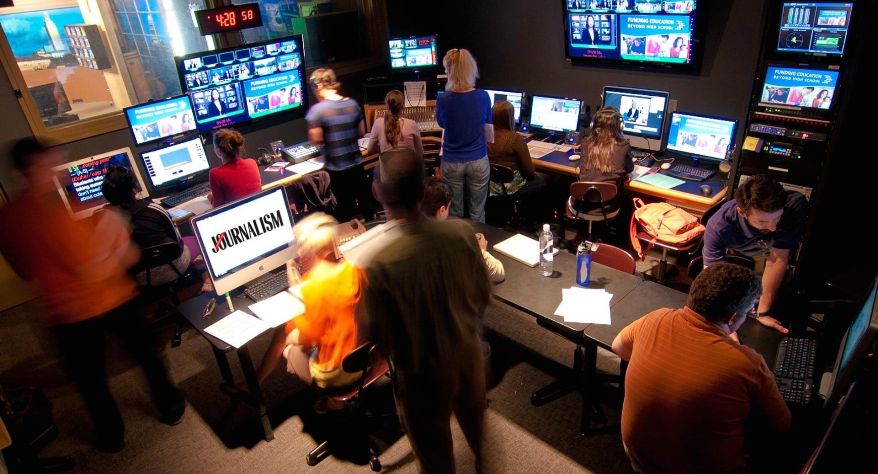 Behind the scenes of Texas Newswatch.