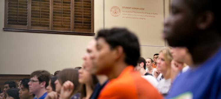 University of Texas students are the best in class