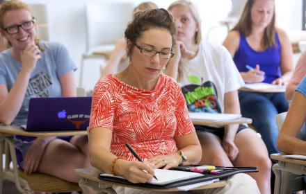 Social work classroom