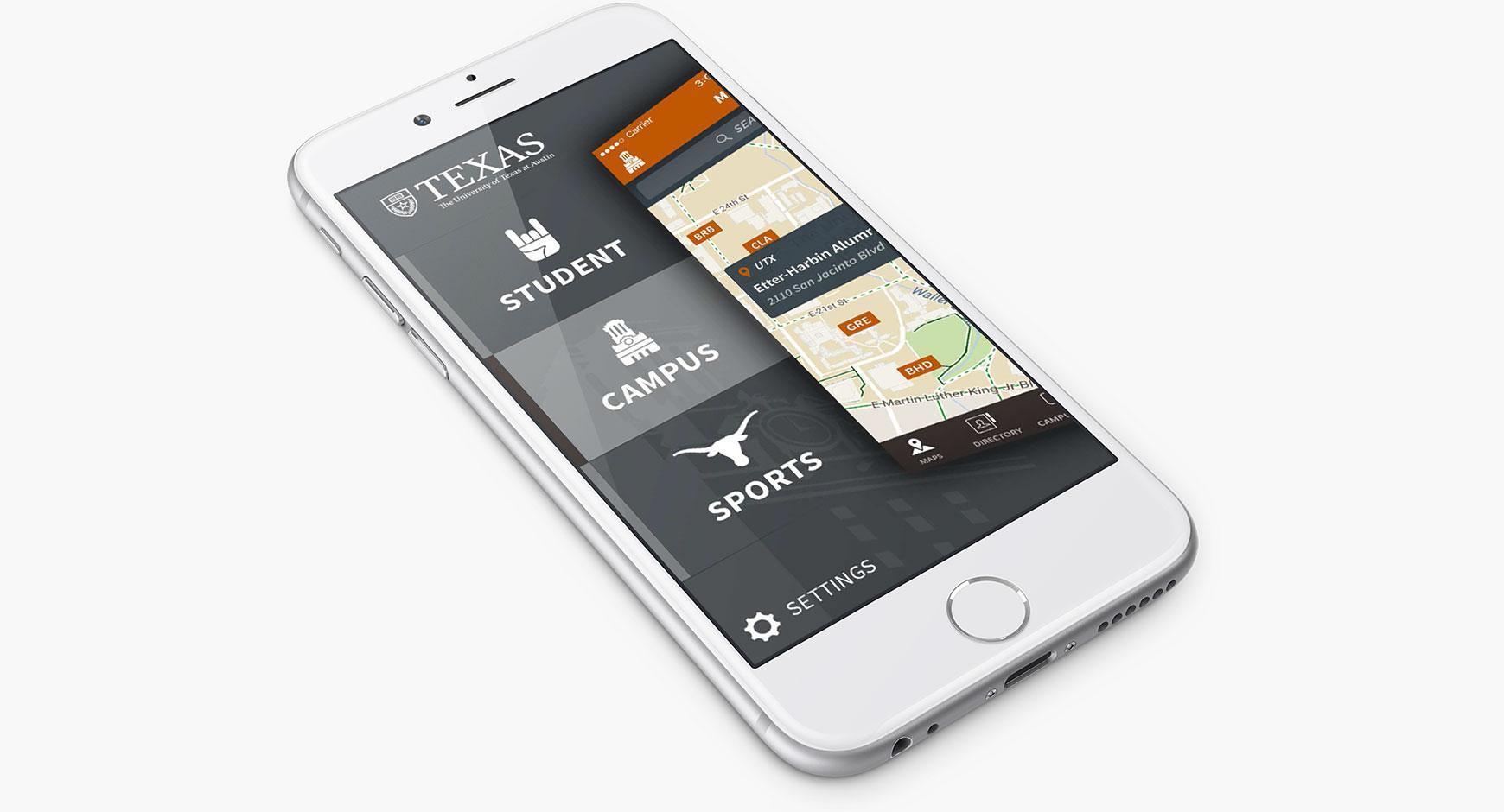 UT mobile app