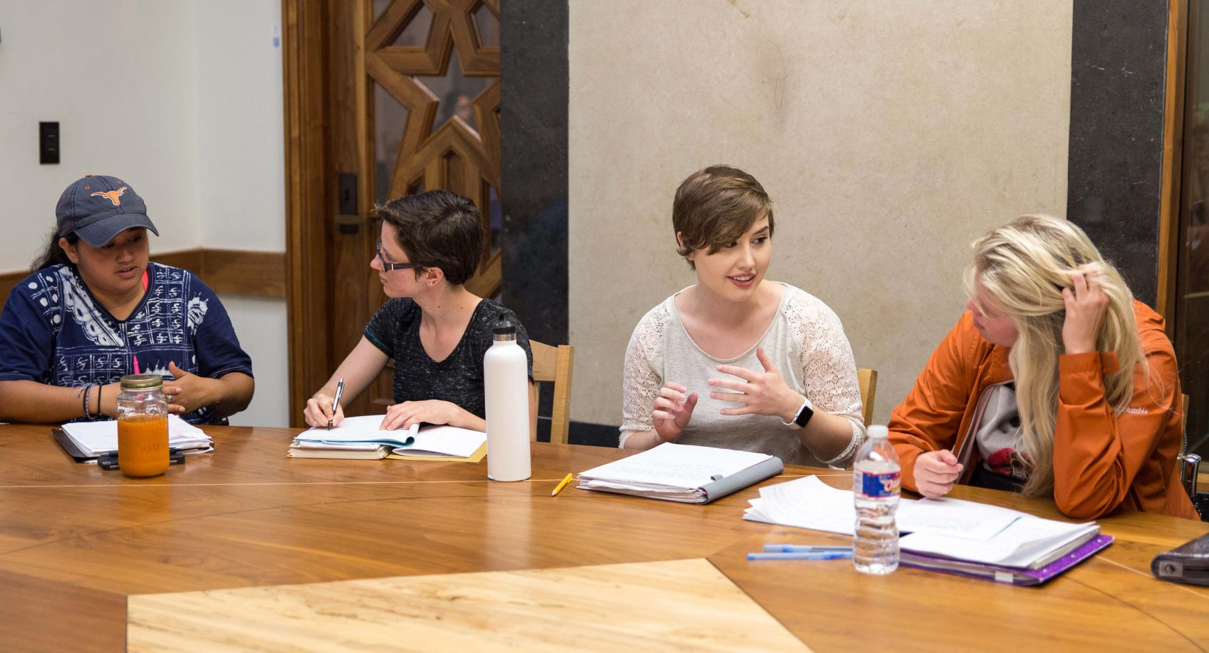 Students at the School of Undergraduate Studies