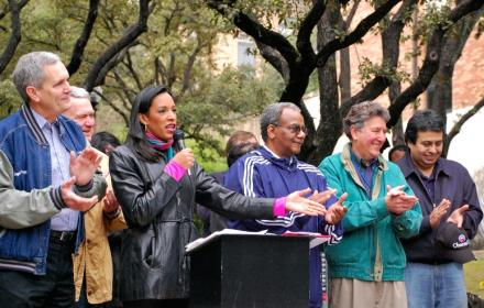 MLK Day rally and parade