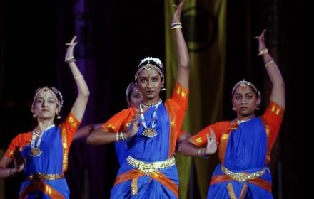 Nritya Sangam performance at Gone to Texas.