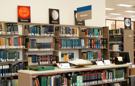 Kuehne Physics Mathematics Astronomy Library